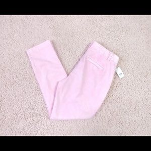 NWT Gap Pastel Pink Girlfriend Chino Sz 0 Petite